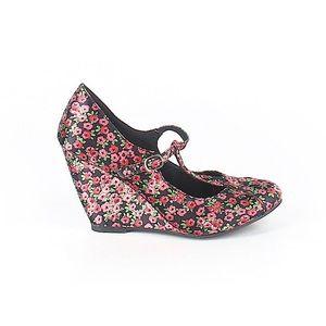 Rocket Dog Shoes - Floral Wedges